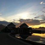 sunset time ..at Latitude 797 Skyy Lounge