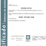 Certificación ISO 9001/2008
