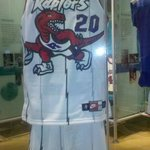 The first Toronto Raptor Uniform