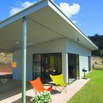 New modern architecture for each Retreat complete with covered carport