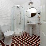 Rennovated Retro Style Bathroom