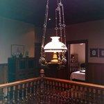 Light over stairwell
