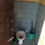The snorkelling trip 'restaurant toilet'