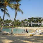 Nice private beach area