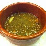 zuppa lenticchie e cannella