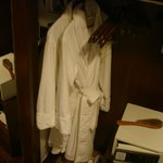 room closet with thick bath robes