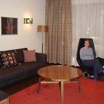 Junior Suite Lounge Room