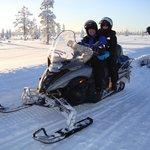 Snowmobile ride