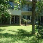 Lush Garden Area