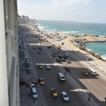 View down the Corniche