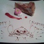 ディナー後のデザート