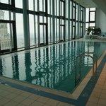 Vue depuis la piscine de l'hôtel (au 43ième étage)