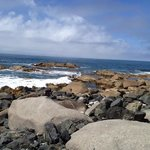 beautiful rugged coastline!