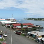 Bocas town view from Palm Royale
