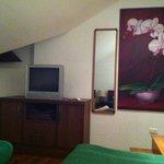 Chambre du haut : 2 lits simples