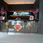 front desk @ hotel lobby