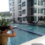 1 of the pools at Kamala Regent (free for G1 guests)