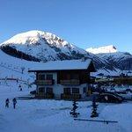 Vista dalla camera lato piste da sci