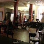 Restaurante e parte da recepção