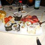 Piatto misto Sushi Sashimi