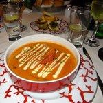 A la carte at the Mediterranean restaurant