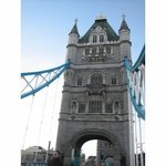 Running across Tower Bridge