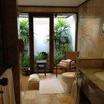 bathroom garden view room