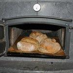 Mon pain au levain - Cuit au feu de bois en hiver