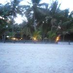 Vu depuis la plage