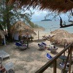 espace salon lounge plage