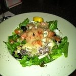 Mermaid seafood salad