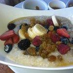 delicious oatmeal at Ama AMA