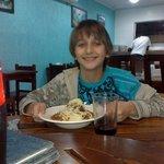 Jantar no restaurante da Pousada
