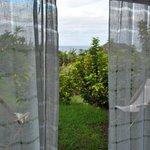 Vista desde la habitación al mar