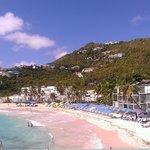 Dawn Beach at our resort