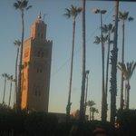 La célèbre Koutoubia au centre de Marrakech