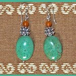 Our exclusive line of earrings available at our gift shop