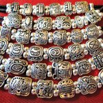 mayan icon silver plated jewelry at our gift shop