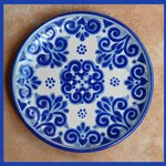 Talavera plate at our gift shop