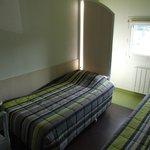 Chambre twin avec 2 lits pour 1 personne