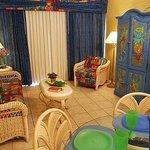 Living Area at Grand Lake Resort Kissimmee