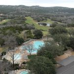Great view of the pool (There is also an indoor pool in the