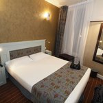 Comfortable double bed (Room 301)