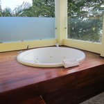 Jacuzzi on Master Suite deck at Royal Suites