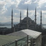 Roof top terrace - Blue Mosque