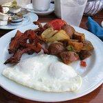 Gilligan's at the Radisson has the best breakfast and coffee!