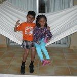 KIDS IN BALCONY SWING
