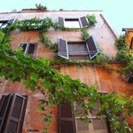 Rome view of trastevere
