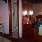 corner double room with ensuite bathroom