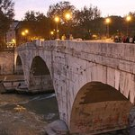 Rome Trastevere Bridge